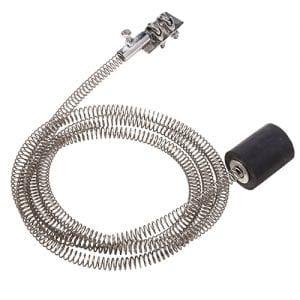 Spring brake for commercial zipline