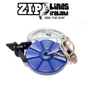 13m - 30m ZLI Zip Line Kit - Zip Lines Ireland