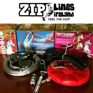 30m ZLI Kit & Brake - Zip Lines Ireland