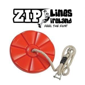Plastic Disc Seat - Zip Lines Ireland