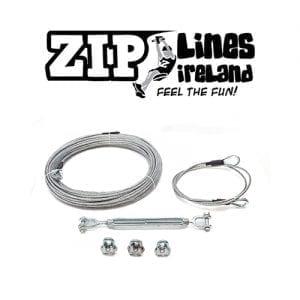 Domestic Pre-Cut Cables - Zip Lines Ireland