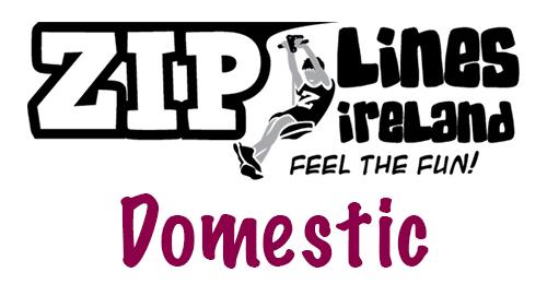 Zip Lines Ireland Domestic Range
